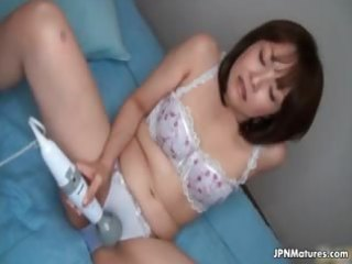 lewd japanese aged housewife can part1