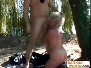 granny acquires a lesson from masked man