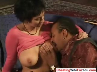 Cuckold wife gets bbc