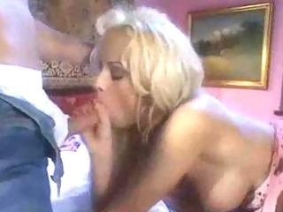 blond euromilf teaches guy