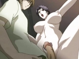 hentai milf engulfing a jock and drinking sperm