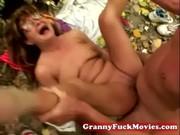 granny drilled by her boyfriend
