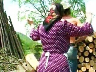 immodest granny drilled lumberjack