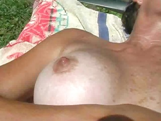 fingering my soaked pussy in the sexy florida sun