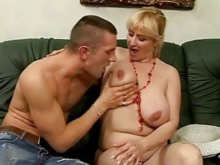 lusty breasty granny fucking with youthful fellow