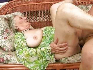 very old granny acquires screwed hard