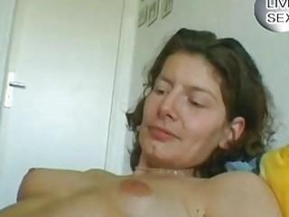mature german woman rubbing herself