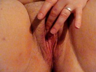 wife fingering her cunt