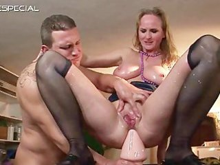 aged mother acquires all her holes filled part1