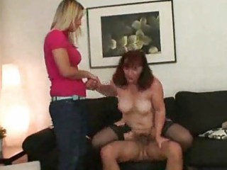 wife lets hubby fuck her mommy