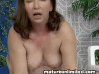 bulky mature maid gets pounded