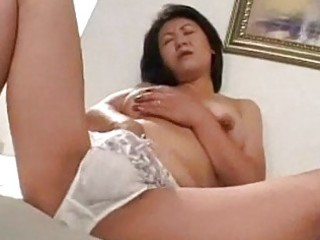 mother i masturbating on the bed jerking off