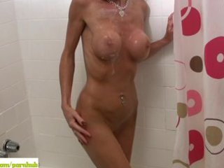 armani knight soaps up older fake melons