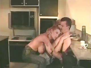 redhead lynn lemay goes for a younger knob and