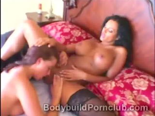 sexually excited lesbo sluts have a good time