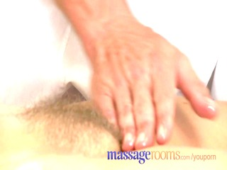 massage rooms older woman with hairy pussy given