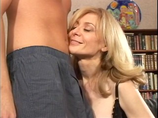 Blond mother Id like to fuck undresses for