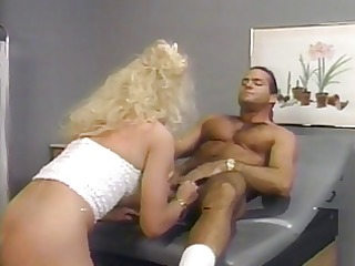 large hair blond acquires fucked from behind in