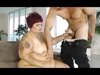 ss tattooed big beautiful woman