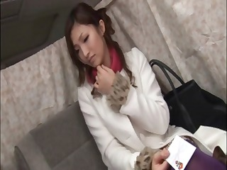 sweet juvenile asian is teased with a sex-toy in