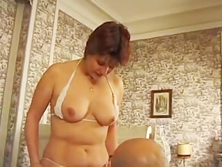 Hairy bbw french mature
