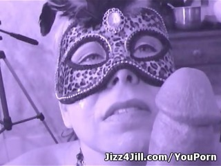 circle jerk wife drenched in cum