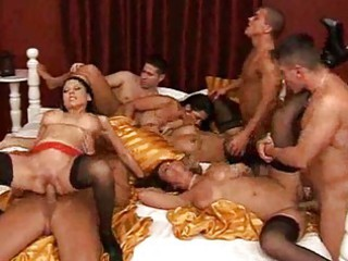 breasty group sex milf tramps