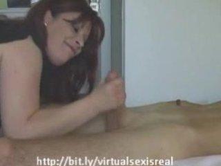 german mother i brunette sucks and fucks a