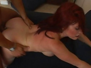 marvelous breasty redhead d like to fuck receives
