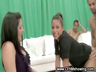 cfnm ladies show how they like to fuck