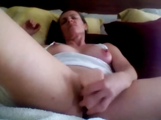 hawt a-hole aged private sex-toy fucking
