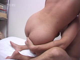 Asian wife banged in the storage room