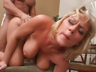 golden-haired d like to fuck receives her pussy
