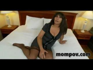 lustful old granny fucking youthful cock in her