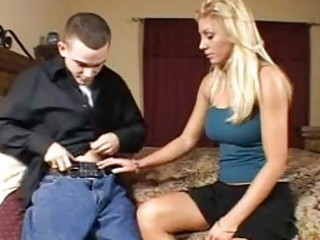 ramrod loving golden-haired milf with big