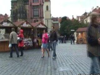 Tourist granny gets humped