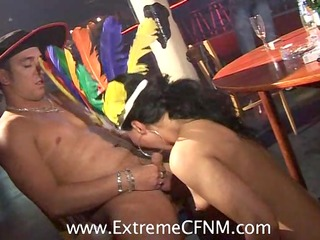 cheating wives girlfriends fuck mmf strippers