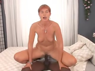 redhead anal older veri and youthful bbc