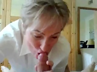 older teacher giving oral-sex and squirting