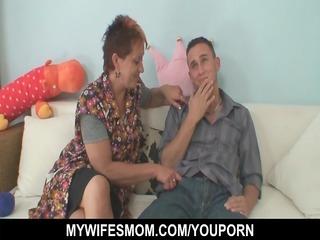 young guy enticed by his wifes mama