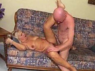granny fucked by bald stud