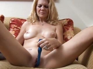 mature chick has a pierced vagina