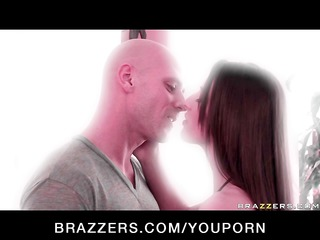 skinny pornstar with natural tits copulates hard