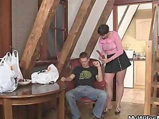 wicked mother in law jumps on his dong