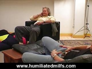 milf slut interracial gang group sex