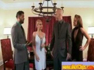 busty cheating wives in swinger porno movie-69