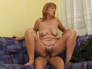 Russian mom makes it with younger guy