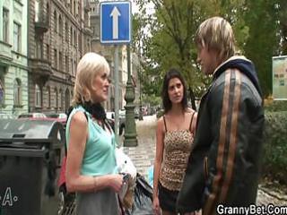 granny prostitute pleases juvenile chap