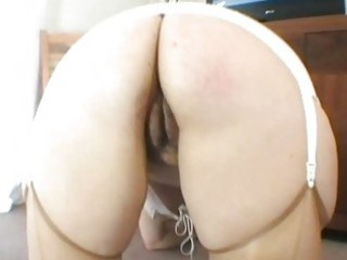 sexy chubby golden-haired uk milf shags on the