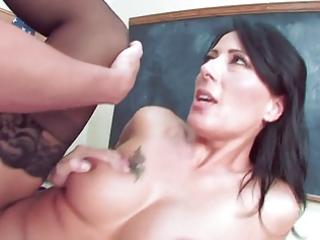 hawt older teacher entice her student